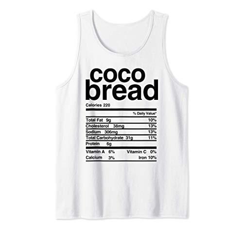 Jamaican Coco Bread Nutritional Value Tank Top