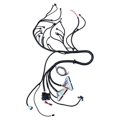 4L60E 4L80E Engine Harness Professional Individual Harness Strap 4L60E 4L80E Drive Cable LS1 4.8 5.3 6.0 1997-2006 EV1 Syringe Plug and 3-Pin Maf