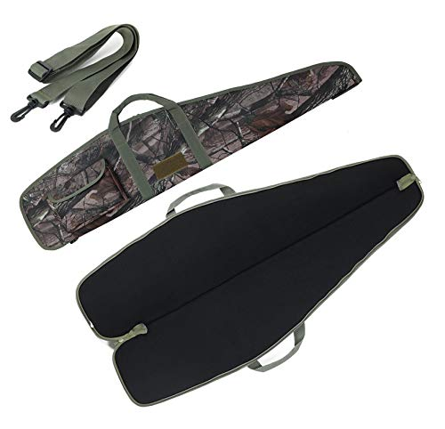 """SW SOWLAND Soft-Rifle Cases Long-Shotgun Bags - for Tactical Hunting Shooting Range Storage Gun Cases Jungle 44"""""""