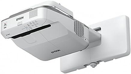 EPSON EB-680 3LCD XGA 超短距投影仪 1024x768 4:3 3500 流明 16W 扬声器