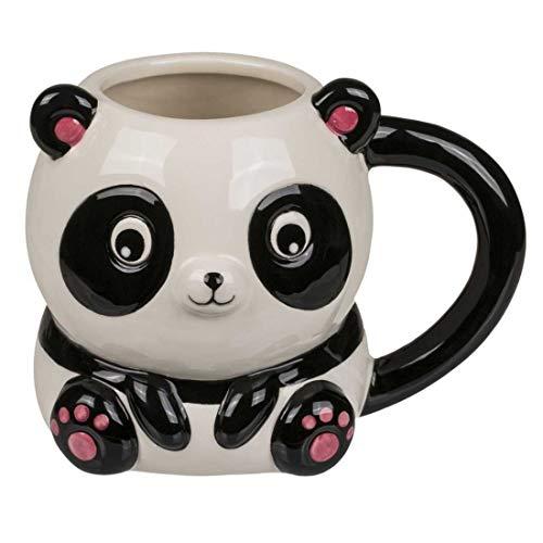 CBK-MS Tasse Becher Panda Kaffeebecher Pandabär Kindertasse Bürotasse Kaffeetasse