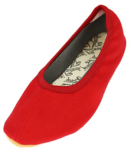 Beck Unisex Basic 060 dziecięce buty gimnastyczne, Czerwony czerwony 07, 30 EU