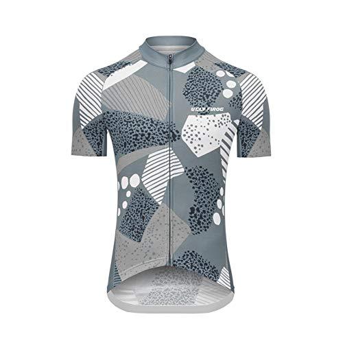 Uglyfrog Maillot de Cyclisme en Jersey pour Femme, VTT à Manches Courtes Vêtement, Sport Vêtements d'été