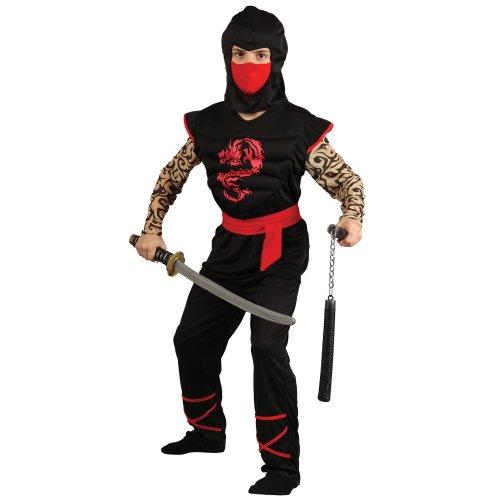 Wicked Costumes - Costume da Halloween per ragazzi, guerriero Ninja giapponese