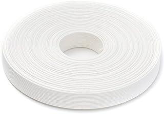 手芸用エコクラフトテープ 白 10m巻 幅15mm 12芯
