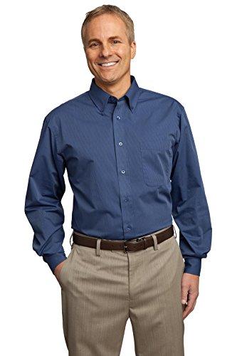 Port Authority® Tonal Pattern Easy Care Shirt. S613 Blue 4XL
