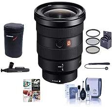 Sony FE 16-35mm f/2.8 GM (G Master) E-Mount Lens - Bundle with 82mm Filter Kit, Lens Case, Cleaning Kit, Capleash II, Lenspen Lens Cleaner, PC Software Package
