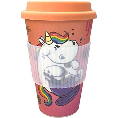 Pummeleinhorn Bambus Mug - Kaffee-O-Meter (380 ml)