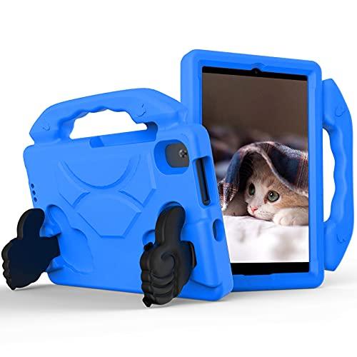 KATUMO Funda Niños Compatible con Lenovo Tab M8 FHD de 8' 2020 (TB-8705F / 8705N) y Funda para Lenovo Tab M8 HD 2019 (TB-8505F / 8505X), Carcasa Protectora Ligera Prueba de Golpes,Azul