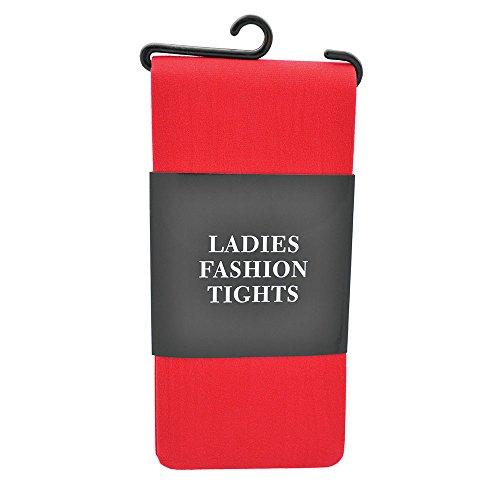 Bristol Novelty Novelty-BA475 BA475 Collants pour Femme, Rouge, Red, taille unique