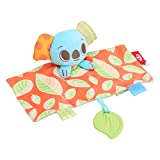 Bling Valley Security Blanket, Lovey Security Blanket with Stuffed Animal and Teethers for Babies 0-6 Months, Baby Security Blanket for Infants Toddlers Kids,Koala