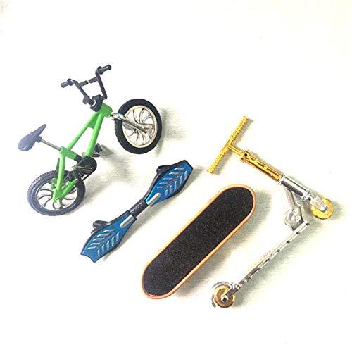 Youlin Mini Roller Finger Fahrrad Zweirad Roller Kinder Lernspielzeug Fingerscooter Fahrrad
