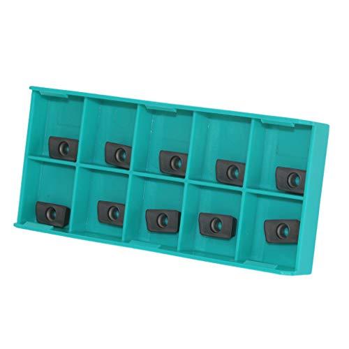 10 Stück CNC Hartmetall Einsatzschneider Wendeschneidplatte Drehmaschine Fräseinsätze Drehen Werkzeuge mit Box - APMT1604 / 1135 APMT1135PDER VP5525