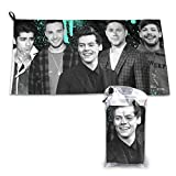 One Direction Quick Dry Towel Microfiber Towels Lightweight Thin...