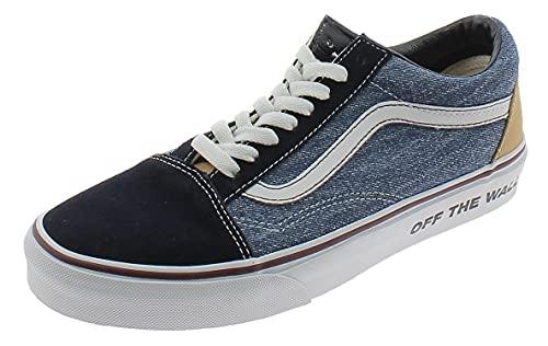 VANS Old SKOOL Zapatos Deportivos Hombre Jeans Azules VN0A4U3B0EK1