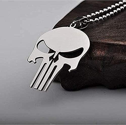 NC198 Collar de Acero Inoxidable de Titanio Colgante punitivo Personalizado