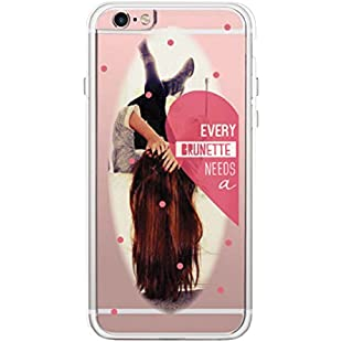 365 Printing Brunette Best Friend iPhone 6 6S Plus Phone Case Clear Phonecase