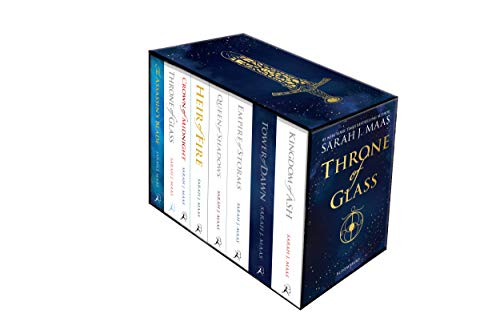 Throne of Glass Paperback Box Set: 1-7