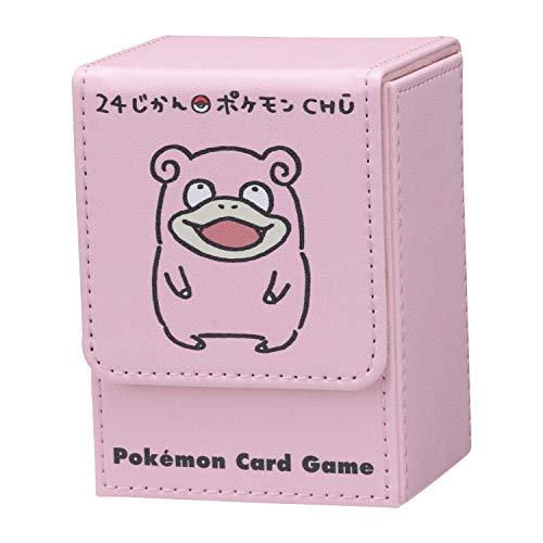 ポケモンセンターオリジナル ポケモンカードゲーム フリップデッキケース 24じかんポケモンCHŪ ヤドン