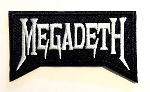Megadeth? Parches para planchar aufnaher Toppa