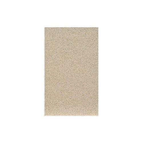 FireFix 2012 Placa de vermiculita de 30 mm de grosor, dimensiones 498 x 303 mm, Amarillo