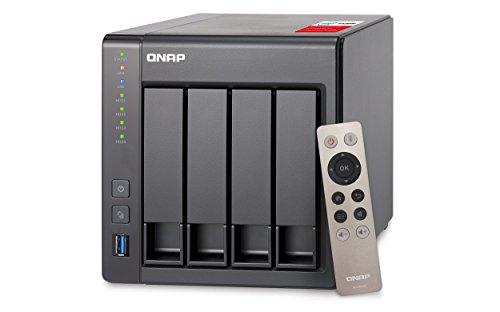 QNAP TS-451+-2G 8TB 4 Bay NAS-Lösung | Installiert mit 4 x 2TB Western Digital Red Drives (GDPR konform)