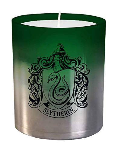 Harry Potter: Slytherin Large Glass Candle