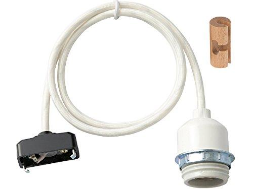 ジェネラル 1灯用ソケット 低温琺瑯 1mコード GENERAL SOCKET 1m E26_LOW ENAMELD 002960 ブラック(BK)