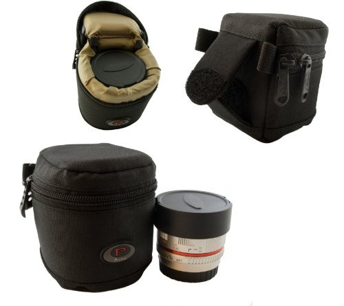 Qualitäts Mini Köcher für Systemkamera Objektive, Konverter usw. - Modell Nr. 1-65 mm x 65 mm
