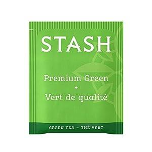 Stash Tea Premium Green Tea 100 Count Box of Tea Bags in Foil