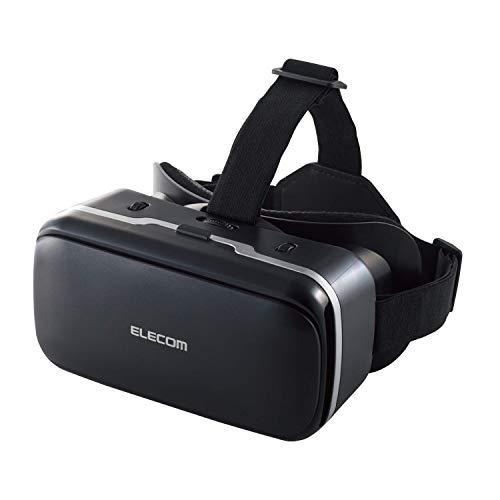 エレコム VRゴーグル VRヘッドセット DMMで使えるポイント付 スターターセット ピント調節 目幅調節 ブラック VRG-D02PBK