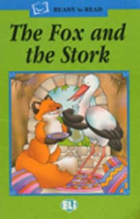 Ready to read - Green line: The Fox and the Stork - book + audio CD