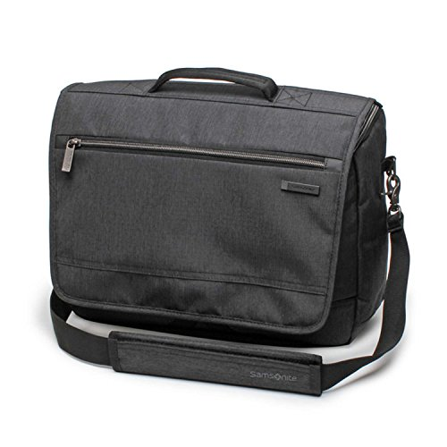 Samsonite Modern Utility Messenger Bag Laptop, Charcoal Heather, One Size