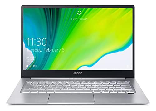 Acer Swift 3 SF314-42-R4VX - Ordinador portátil de 35,6 cm (14'), 1920 x 1080 Pixeles, AMD Ryzen 5 8 GB, LPDDR4-SDRAM 512 Go SSD Wi-Fi 6 (802.11ax), Windows 10 Home Argent