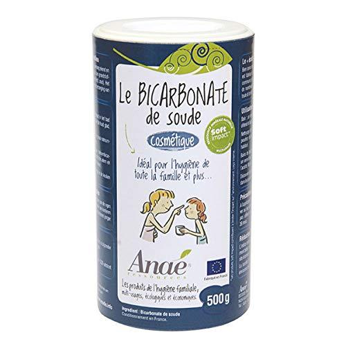 Anaé - Bicarbonate De Soude Cosmétique 500G - Lot De 3 - Livraison Rapide En France -...