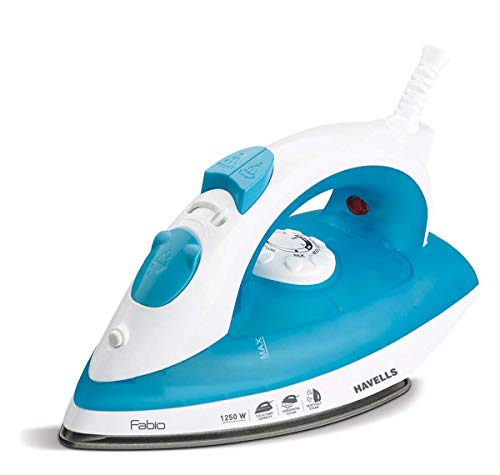 Havells Fabio 1250-Watt Steam Iron (Blue)