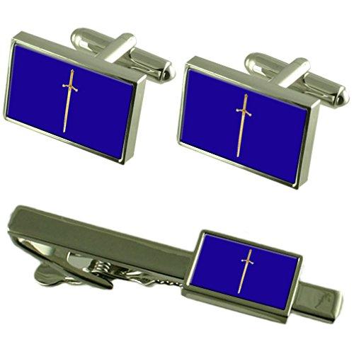 Select Gifts Cravate boutons de manchette Tyler maçonnique Box Set