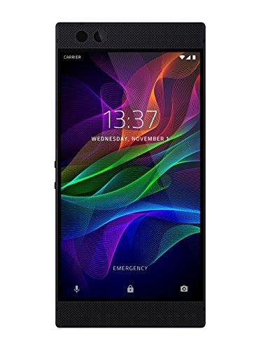 Razer Phone Smartphone (14,48 cm (5,7 Zoll) UltraMotion Touch-Display, 64 GB Speicher, Android OS) schwarz