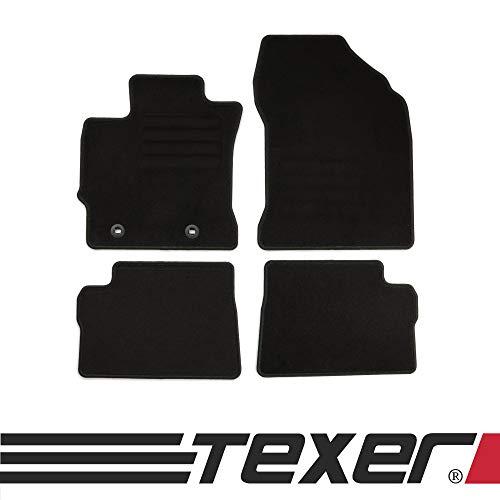 CARMAT TEXER Textil Fußmatten Passend für Toyota Auris II Bj. 2012-2019 Basic