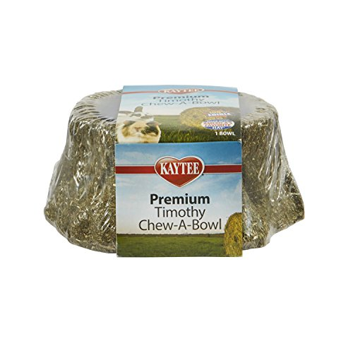 Kaytee Premium Timothy Treat Chew-A-Bowl For Small Animals