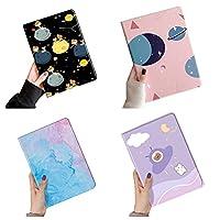 可愛い iPad mini4 mini 5ケース 星空 宇宙 薄型 超軽量 耐衝撃 かわいい カラフル ブック式 PU レザーケース アイパッドミニ 4 ミニ5 ケース スタンド機能 滑り止め 女の子 (iPad mini4/5, 11 番)
