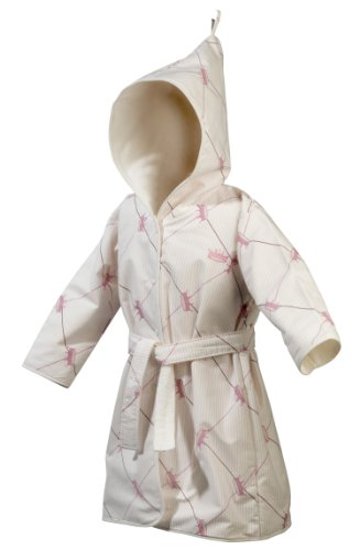 Nicolientje 700622 badjas met capuchon 86-92 cm, roze