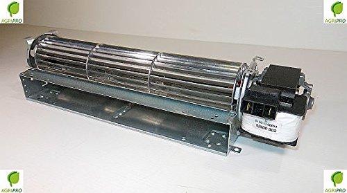 Agripro radiale ventilator DN 60, universeel, vleugels 12 cm, motor rechts