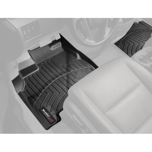 Amazon.com: WeatherTech Front FloorLiner for Select Fiat 500 Models (Black): Automotive