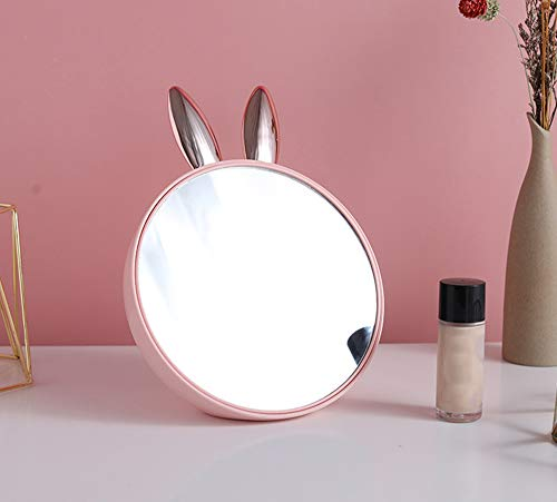 N /A Unique Cosmetic Makeup Mirror Travel Compact Pocket Make Up, Mirror for Beauty Makeup Best for Makeup, Shaving, Brushing Teeth, Tweezing and for Bathroom or Travel