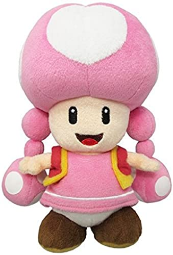 el mejor servicio post-venta Little Buddy Buddy Buddy USA Super Mario All Star Collection 7.5 Toadette Plush by Little Buddy  compras en linea