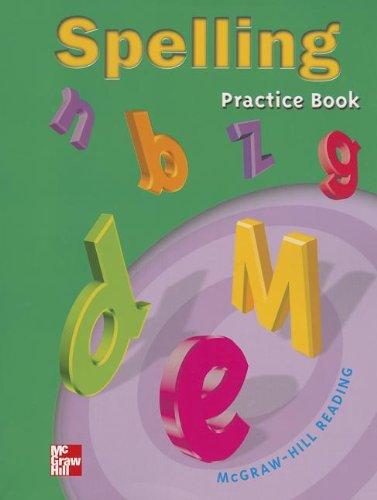 Spelling Practice Book, Grade 3