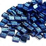 Craft Mosaic tiles - 10mm - 50g Foil - Cobalt