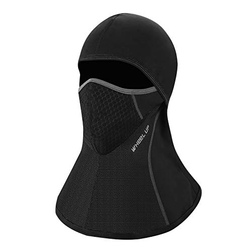 FORMIZON Pasamontañas Moto, Pasamontañas Balaclava a Prueba de Viento Máscara de Invierno, Máscara Facial de Deportes al Aire Libre Calentar a Prueba de Viento Tamaño Universal