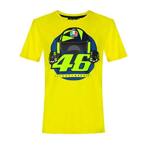 Valentino Rossi Camiseta Cupolino,L,Amarillo,Hombre